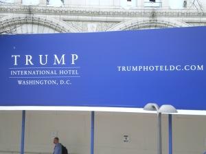 Trump hotel.