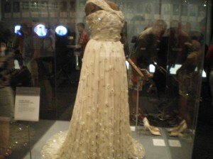 Michelle Obama's first gown