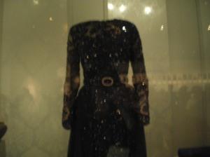 Hilary Clinton's gown