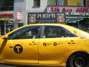 Yellow taxi, yellow taxi!