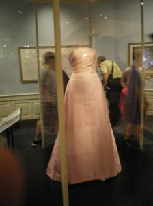One of Jackie's dresses..